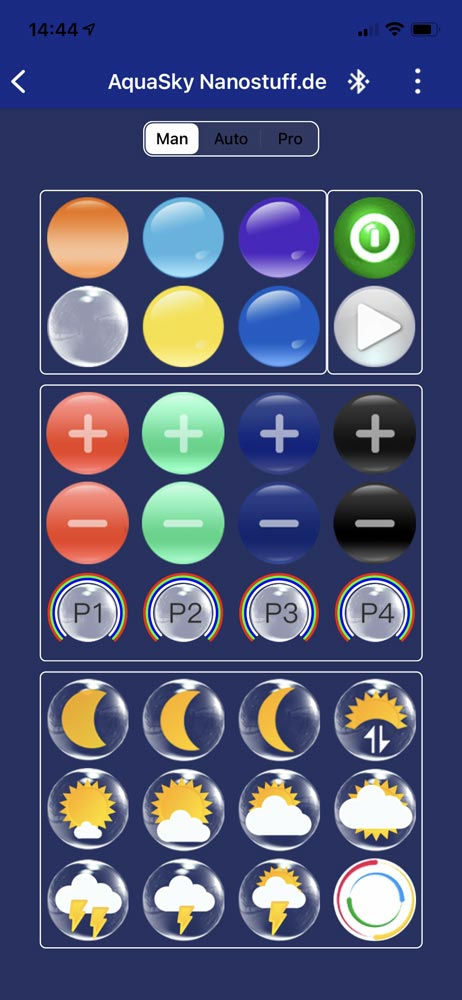 Fluval AquaSky 2.0 App