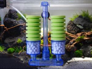 Schwammfilter für Nano Aquarium