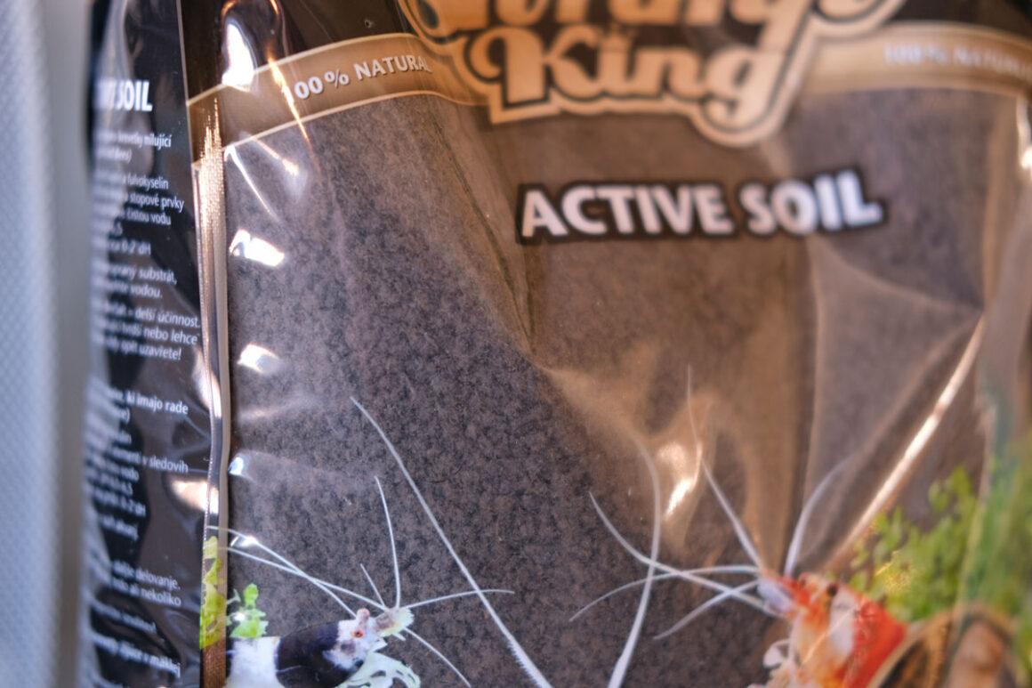 Active Soil Nano Aquarium