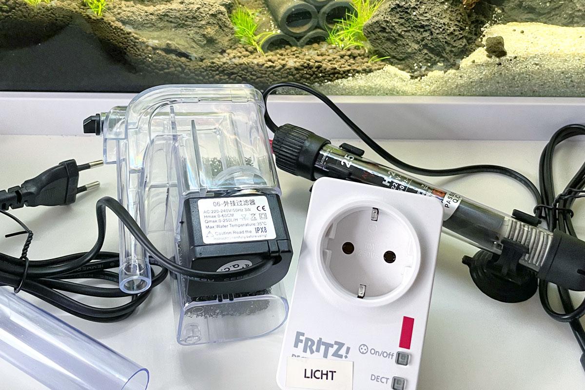 Technik im Nano Aquarium